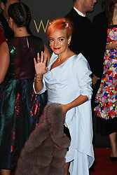 Lily Allen, The British Fashion Awards 2014, The London Coliseum, London UK, 01 December 2014, Photo By Brett D. Cove © Licensed to London News Pictures. 02/12/2014. Brett D Cove/PIQ/LNP