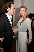 ROBERT FRY; PIPPA VOSPER, THE LAUNCH OF THE KRUG HAPPINESS EXHIBITION AT THE ROYAL ACADEMY, London. 12 December 2011.
