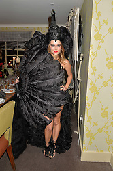 JULIET ANGUS at the Bumpkin Halloween Dinner hosted by Marissa Hermer held at Bumpkin, 119 Sydney Street, London on 23rd October 2014.