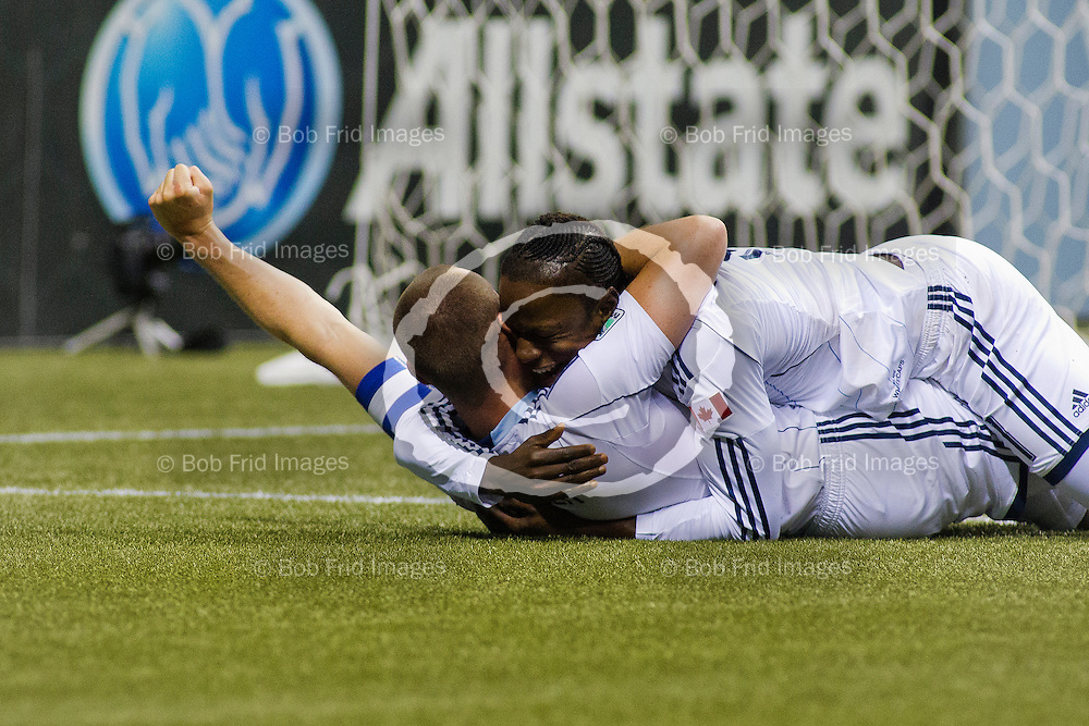 06 July 2013:   Action during a game between Vancouver Whitecaps FC and Seattle Sounders FC on Bell Pitch at BC Place Stadium in Vancouver, BC, Canada.  Final Score: Vancouver 2  - Seattle 0  ****(Photo by Bob Frid - Vancouver Whitecaps 2013 - All Rights Reserved)***