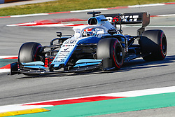 February 26, 2019 - Barcelona, Catalonia, Spain - George Russell Williams during F1 test celebrated at Circuit of Barcelona 26th February 2019 in Barcelona, Spain. (Credit Image: © Mikel Trigueros/NurPhoto via ZUMA Press)
