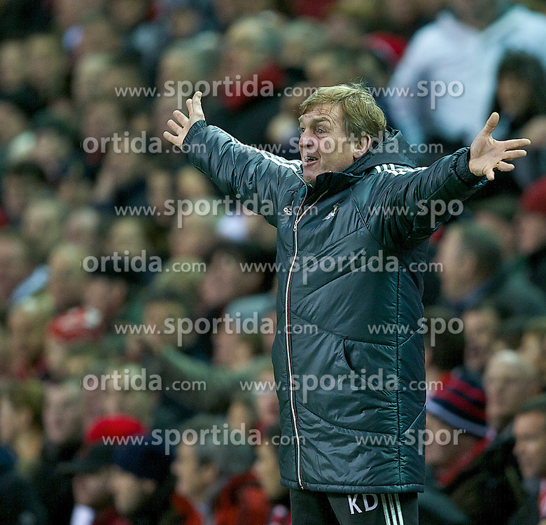 30.12.2011, Anfield Stadion, Liverpool, ENG, PL, FC Liverpool vs Newcastle United, 19. Spieltag, im Bild Liverpool's xxxx in action against Newcastle United during the football match of English premier league, 19th round, between FC Liverpool and Newcastle United at Anfield Stadium, Liverpool, United Kingdom on 2011/12/30. EXPA Pictures © 2011, PhotoCredit: EXPA/ Propagandaphoto/ David Rawcliff..***** ATTENTION - OUT OF ENG, GBR, UK *****