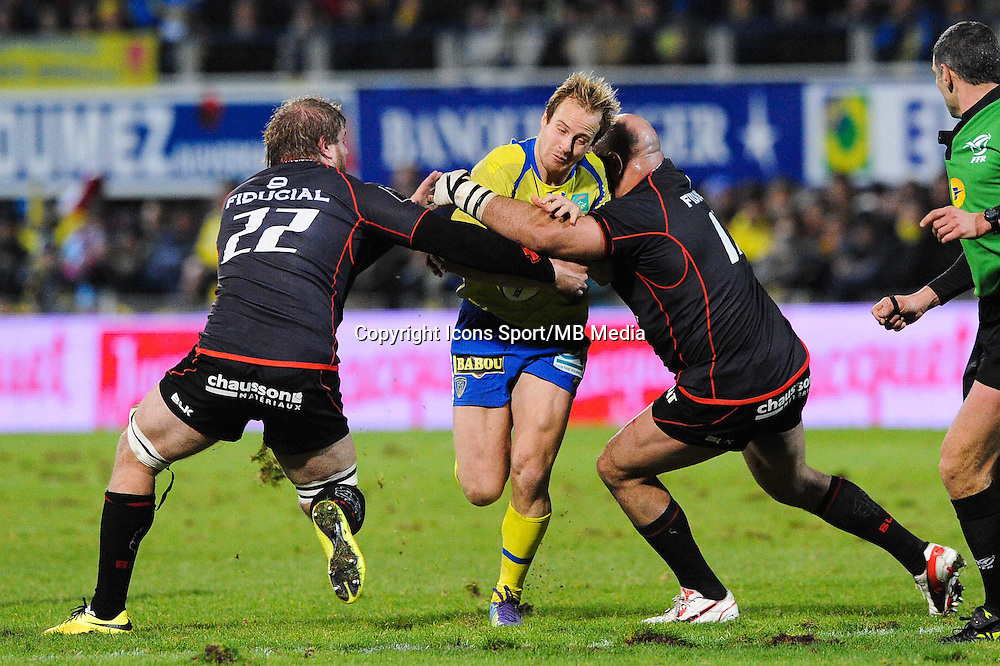 Nick ABENDANON - 04.01.2015 -  Clermont / Toulouse - 15eme journee de Top 14 - <br />