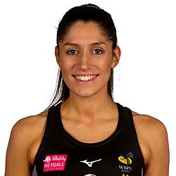 Amy Flanagan of Wasps Netball - Mandatory by-line: Robbie Stephenson/JMP - 02/11/2019 - NETBALL - Ricoh Arena - Coventry, England - Wasps Netball Headshots