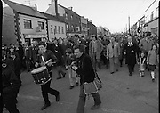 Charles Haughey Campaigning in Tullamore/Portlaioise.1982.14.02.1982.02.14.1982.14th February 1982.  Mr C.J.Haughey on the campaign trail in the Tullamore / Portlaoise constituency