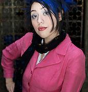 Vanessa Reyes, as Suzi Suzuki, photographed Sunday, February 15, 2009. ©Bahram Mark Sobhani