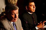 Canciller Nin y Canciller de Bolivia en conferencia de prensa.