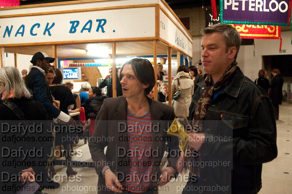 JEREMY DELLER; DANIEL SCOTT, Jeremy Deller, Joy in People, Hayward Gallery, Southbank Centre. London. 21 February 2012.