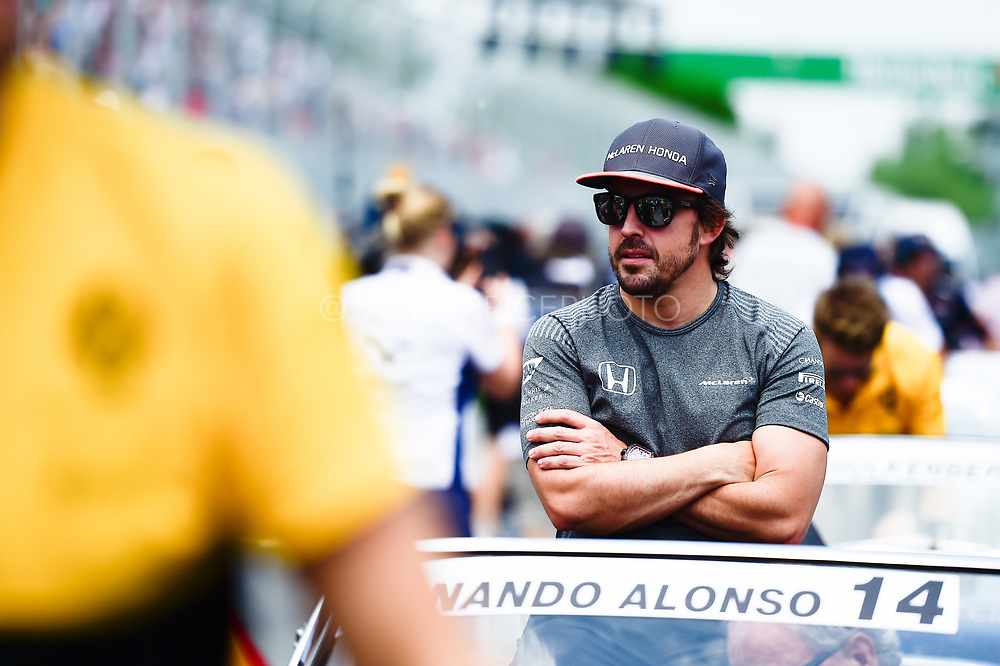 June 8-11, 2017: Canadian Grand Prix. Fernando Alonso (SPA), McLaren Honda,  MCL32