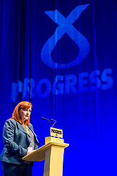 Pictured: Emma Harper MSP<br /> The members of the SNP gathered in the Scottish Events Centre in Glasgow for their annual conference.<br /> <br /> The Ger Harley | EEm 9 October 2017
