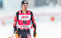 21.02.2016, Salpausselkae Stadion, Lahti, FIN, FIS Weltcup Nordische Kombination, Lahti, Langlauf, im Bild Lukas Klapfer (AUT) // Lukas Klapfer of Austria reacts during Cross Country Gundersen Race of FIS Nordic Combined World Cup, Lahti Ski Games at the Salpausselkae Stadium in Lahti, Finland on 2016/02/21. EXPA Pictures © 2016, PhotoCredit: EXPA/ JFK