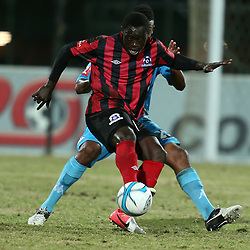 DURBAN, SOUTH AFRICA - AUGUST 03: Yakubu Mohammed of Maritzburg Utd during the Absa Premiership match between Maritzburg United and Polokwane City at Harry Gwala Stadium on August 03, 2013 in Durban, South Africa. (Photo by Steve Haag/Gallo Images)