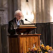 NLD/Amsterdam/20191128 - Koning Willem-Alexander reikt Erasmusprijs 2019 uit, Amerikaanse componist en dirigent John Adams