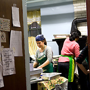 """Hundreds of volunteers part of the """"Occupy Sandy"""" relief effort are based out of the Church of St. Luke and St. Matthews in Clinton Hill, Brooklyn as they prepare food and donations to be shipped out to disaster areas devastated by Hurricane Sandy. Become a volunteer with """"Occupy Sandy"""" HERE:<br /> <br /> http://interoccupy.net/occupysandy/"""