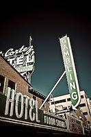 Cortez Hotel in Old Las Vegas.  Copyright 2008 Reid McNally.