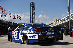 November 18, 2017 - Homestead, Florida, United States of America - November 18, 2017 - Homestead, Florida, USA: Jimmie Johnson (48) takes to the track to practice for Ford EcoBoost 400 at Homestead-Miami Speedway in Homestead, Florida. (Credit Image: © Justin R. Noe Asp Inc/ASP via ZUMA Wire)