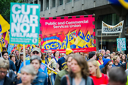 Anti Austerity demo, London 20 June 2015