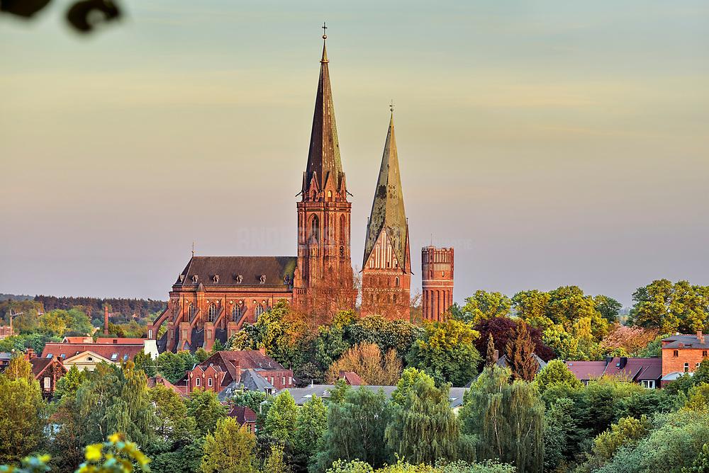 Blick über die Lüneburger Altstadt