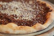 Nutella (Chocolate Spread) Pizza