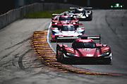 August 5 2018: IMSA Weathertech Continental Tire Road Race Showcase. 55 Mazda Team Joest, Mazda DPi, Jonathan Bomarito, Harry Tincknell