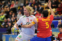 HANDBALL - 22ND MEN'S WORLD CHAMPIONSHIP SWEDEN 2011 - JONKOPING (SWE) - SPAIN (32) vs NORWAY (27) - 22/01/2011 - ERLEND MAMELUND (NOR) - PHOTO : FRANCK FAUGERE / DPPI
