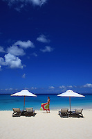 Turks & Caicos, Amanyara, Conde Nast Traveler, Amanresorts, Best in the world, Beach, Model, Malcolm Beach, Paradise, Photo Dan Kullberg