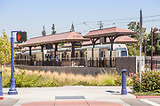 Metro Light Rail at Downtown Azusa Station