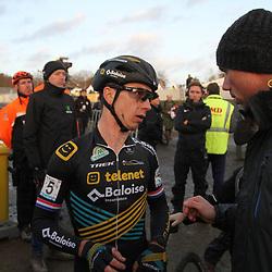 08-12-2019: Wielrennen: Superprestige: Zonhoven: Lars van der Haar: Sven Nys