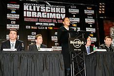 December 4, 2007: Wladimir Klitschko vs Sultan Ibragimov