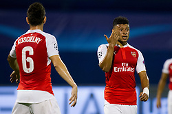 Alex Oxlade-Chamberlain #15 of Arsenal F.C. during football match between GNK Dinamo Zagreb, CRO and Arsenal FC, ENG in Group F of Group Stage of UEFA Champions League 2015/16, on September 16, 2015 in Stadium Maksimir, Zagreb, Croatia. Photo by Urban Urbanc / Sportida