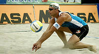 Volleyball, Sandvolleyball, World Tour Stavanger, Grand Slam, 01/07-05, <br />Jørre Kjemperud, <br />Foto: Halvard Hofsmo, Digitalsport