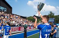UTRECHT -   Sander de Wijn (Kampong)  na  de finale van de play-offs om de landtitel tussen de heren van Kampong en Amsterdam (2-1).  COPYRIGHT KOEN SUYK