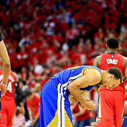 04-23-2015 NBA Playoffs Game 3 - Golden State Warriors at New Orleans Pelicans