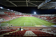 The New York Stadium during the Sky Bet Championship match between Rotherham United and Bolton Wanderers at the New York Stadium, Rotherham, England on 27 January 2015. Photo by Richard Greenfield.