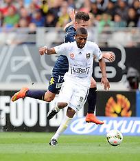 Auckland-Football, A-League, Phoenix v Central Coast Mariners