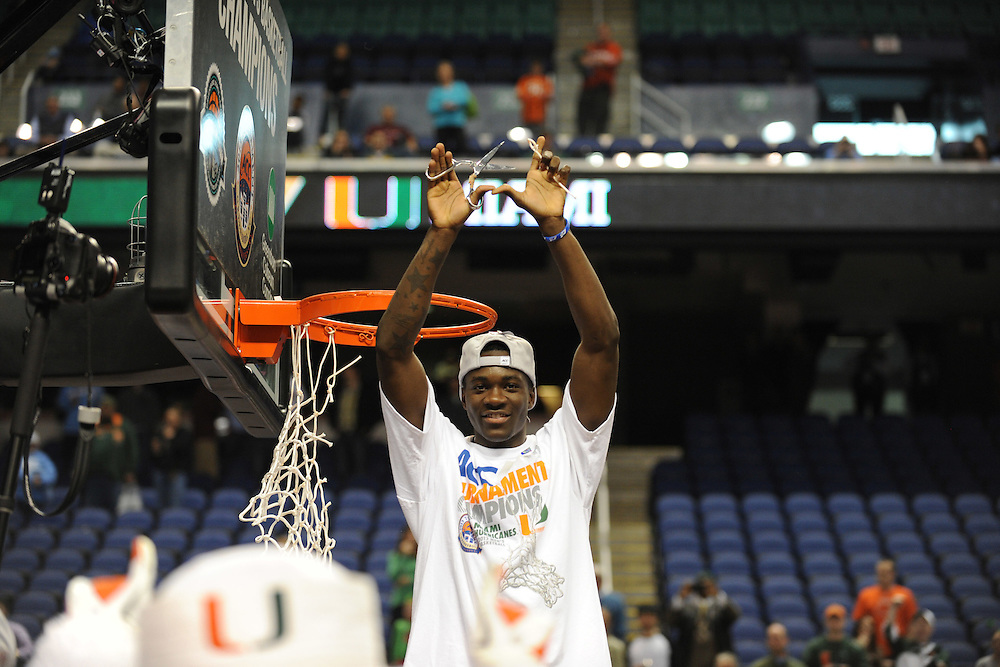 2013 Miami Hurricanes Men's Basketball vs North Carolina @ ACC Tournament
