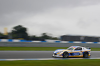 Nathan Freke (GBR) / Anna Walewska (GBR)  #73 Century Motorsport  Ginetta G55 GT4  Ford Cyclone 3.7L V6. British GT Championship at Donington Park, Melbourne, Leicestershire, United Kingdom. September 10 2016. World Copyright Peter Taylor/PSP.