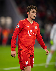 MUNICH, GERMANY - Wednesday, December 11, 2019: Bayern Munich's Benjamin Pavard during the final UEFA Champions League Group B match between FC Bayern München and Tottenham Hotspur FC at the Allianz Arena. (Pic by David Rawcliffe/Propaganda)