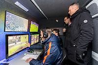 ALKMAAR - 25-01-2017, AZ - sc Heerenveen, AFAS Stadion, 1-0, videoscheidsrechter Danny Makkelie., Marco van Basten.