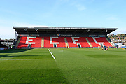 General view of St James Park ahead of the EFL Sky Bet League 2 match between Exeter City and Cheltenham Town at St James' Park, Exeter, England on 16 November 2019.