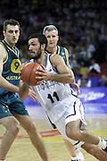 Giochi Olimpici Sydney 2000<br /> Italia-Australia<br /> Nella foto: Andrea Meneghin<br /> Foto Ciamillo