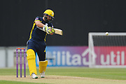 Rilee Rossouw batting during the Royal London One Day Cup match between Hampshire County Cricket Club and Middlesex County Cricket Club at the Ageas Bowl, Southampton, United Kingdom on 23 April 2019.