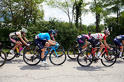 Malgorzata Jasinska (POL) in the break during Stage 9 of 2019 Giro Rosa Iccrea, a 125.5 km road race from Gemona to Chiusaforte, Italy on July 13, 2019. Photo by Sean Robinson/velofocus.com