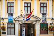 The Croatian Museum of Naive Art in old town Gradec, Zagreb, Croatia