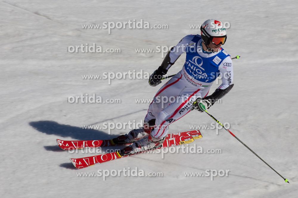 16.03.2012, Planai, Schladming, AUT, FIS Weltcup Ski Alpin, Teambewerb, im Bild Philipp Schoerghofer (AUT) // Philipp Schoerghofer of Austria during Nation Team Event of FIS Ski Alpine World Cup at 'Planai' course in Schladming, Austria on 2012/03/16. EXPA Pictures © 2012, PhotoCredit: EXPA/ Johann Groder