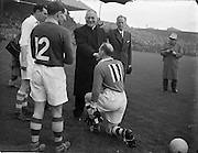 28/9/1952<br /> 9/28/1952<br /> 28 September<br /> <br /> GAA All Ireland Senior Football Meath Vs. Cavan with GAA All Ireland Senior Football Meath Vs. Cavan