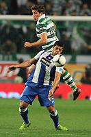 20120107: LISBON, PORTUGAL - Liga Zon Sagres 2011/2012: Sporting CP vs FC Porto.<br />In photo: Hulk and Insua<br />PHOTO: Alexandre Pona/CITYFILES