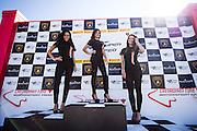July 10-13, 2014: Canadian Tire Motorsport Park. Lamborghini grid girls