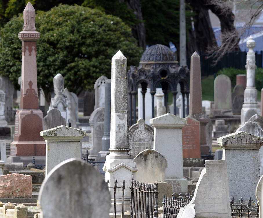 Old cemetery, Wanganui, New Zealand, Friday, September 16, 2011. Credit:SNPA / Ross Setford
