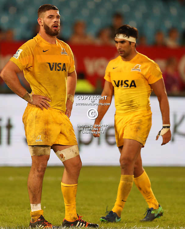 Marcos Kremer of the Jaguares during the Super Rugby match between the Vodacom Bulls and the Jaguares at Loftus Versfeld, Pretoria,South Africa April 15th 2017 Photo by (Steve Haag)